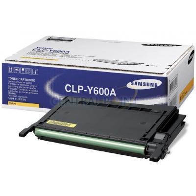 Samsung Gelecartridge voor CLP-600/650 Toner - Geel