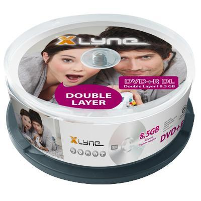 Xlyne DVD: DVD+R DL 8.5GB 25 Pack