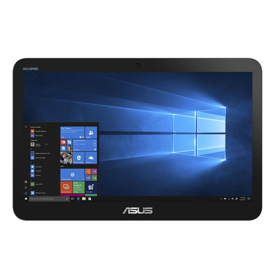 """ASUS EeeTop A41GART-BD001T 15,6"""" Touch Celeron N4020 4GB RAM 500GB HDD All-in-one pc - Zwart"""