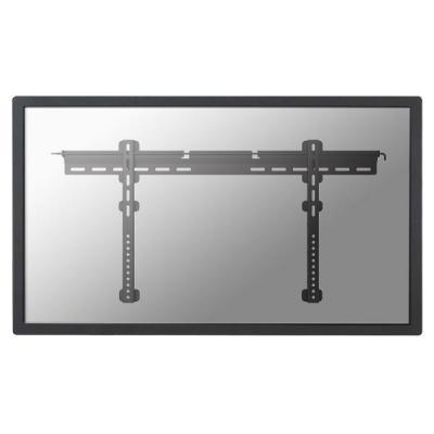 """Newstar montagehaak: De PLASMA-W065BLACK is een vlakke wandsteun voor flat screens t/m 75"""" (191 cm). Inclusief hangslot ....."""