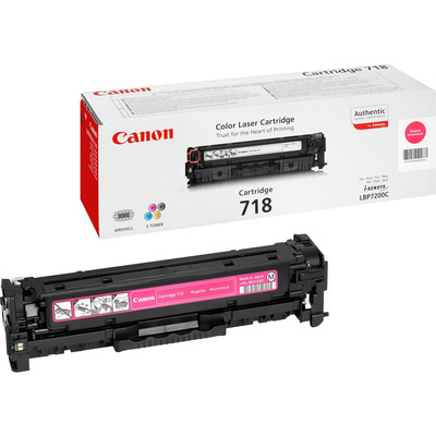 Canon 1x Magenta 718 Pages 2.900 Toner