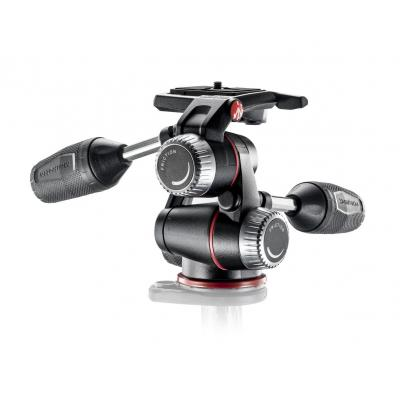 Manfrotto statiefkop: X-Pro 3-Way Head - Zwart