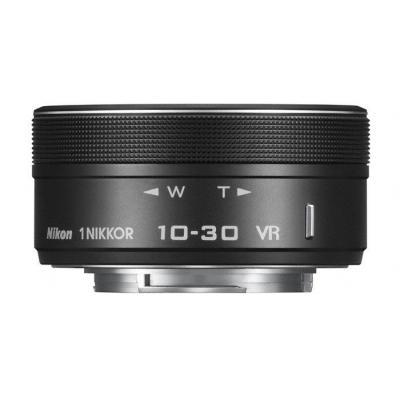 Nikon camera lens: 1 NIKKOR VR 10–30mm f/3.5–5.6 PD-ZOOM - Zwart