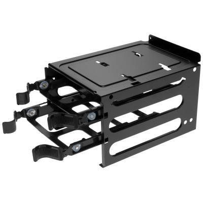 Corsair 350D Single HDD Cage with 2x Tray Computerkast onderdeel - Zwart