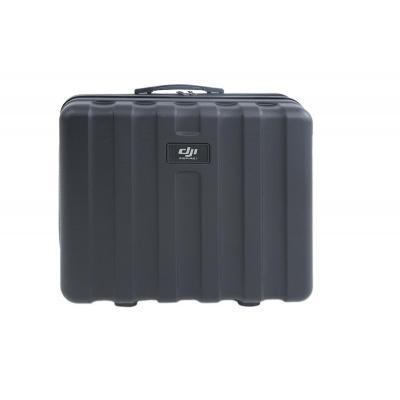 Dji : Plastic Suitcase - Zwart