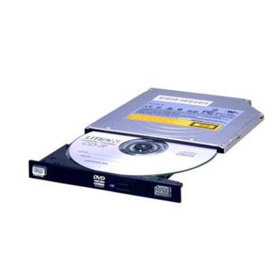 Lite-On Ultra Slim (9.5mm), SATA, DVD/RW, Black Brander - Zwart