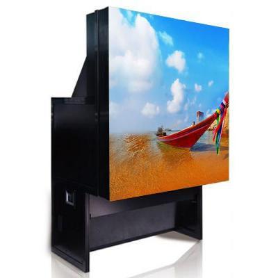 "Hikvision digital technology TV: 152.4 cm (60 "") , DLP, 1400x1050, 800c cd/m², 3x 6 LED, 1219x914 mm - Zwart"