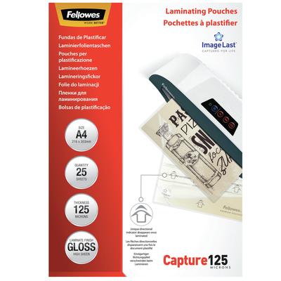 Fellowes A4, 310 x 214 x 4mm Laminatorhoes - Transparant
