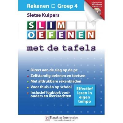 Karakter educatieve software: Slim Oefenen, Met de Tafels (Groep 4)