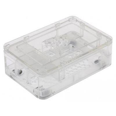 Raspberry pi : RS Pro 2 B, B+ Development Board Case, Clear