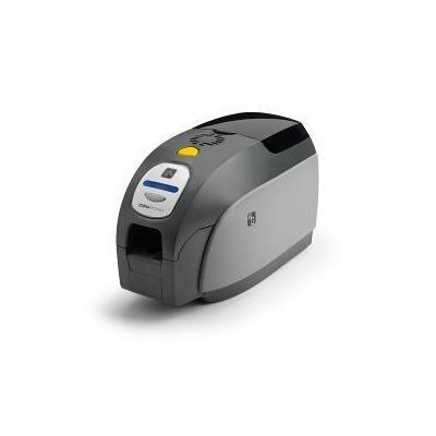 Zebra plastic kaart printer: ZXP3 - Grijs