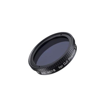 Walimex camera filter: ND, 37.5mm, F-Stop-4 - Zwart, Transparant