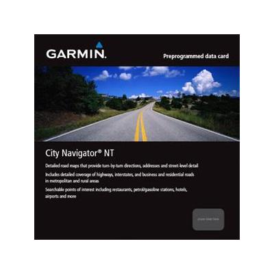Garmin routeplanner: 010-11415-00 - City Navigator Europe NT - Turkey, microSD/SD, aera 500, Dakota 20, Edge 605