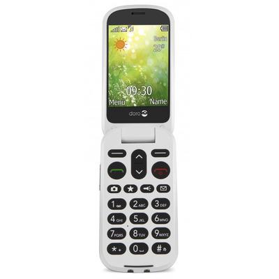 Doro 6050 mobiele telefoon - Grijs, Wit