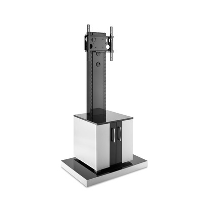 Hagor INFO-TOWER CL TV standaard - Zwart, Zilver