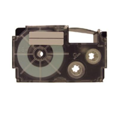 Casio XR-9YW Labelprinter tape - Zwart