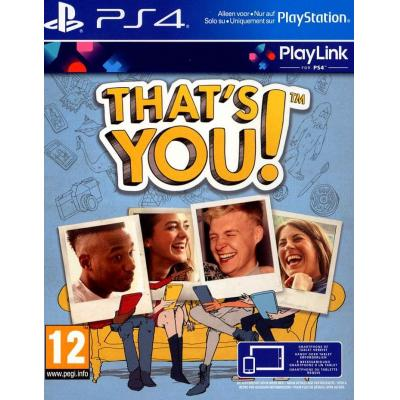 Sony game: That's You!, PS4