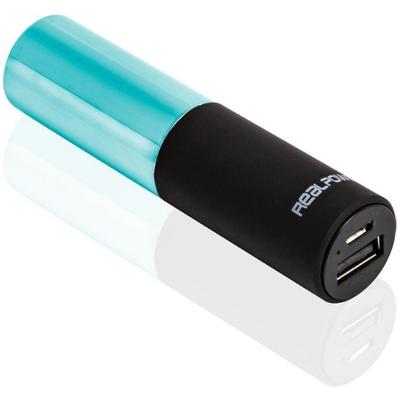 RealPower PB-Lipstick Powerbank - Turkoois