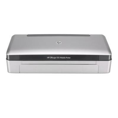 Hp inkjet printer: Officejet 100 Mobiele printer - Zwart, Cyaan, Magenta, Geel