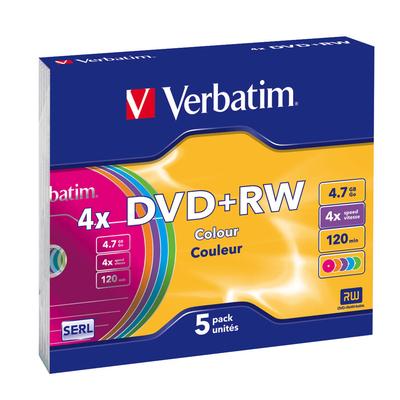 Verbatim DVD+RW Colours DVD