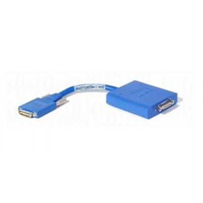 Cisco kabel adapter: Smart Serial 26pin - D37 Male 10 Ft. WIC 2T - RS449 DTE - Blauw