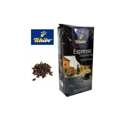 Tchibo koffie: Espresso Sizilianer Art koffie bonen 8x1000 gram