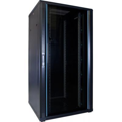 DS-IT 32U serverkast met glazen deur 800x800x1600mm (BxDxH) Rack