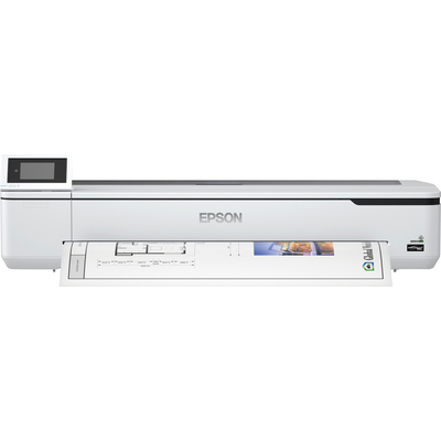 Epson SureColor SC-T5100N - Wireless printer (No stand) Grootformaat printer - Zwart,Cyaan,Magenta,Geel