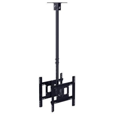 Multibrackets flat panel plafond steun: Medium Back to Back - Zwart