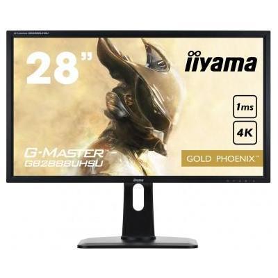 """Iiyama monitor: G-MASTER 28"""" Gold Phoenix - Zwart"""