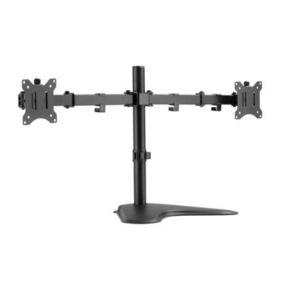 "Equip 17""-32"" Economy Dual Monitor Tabletop Stand Monitorarm - Zwart"