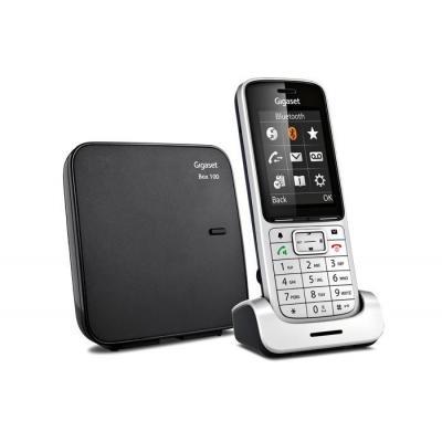 Gigaset SL450 Dect telefoon - Zwart, Zilver