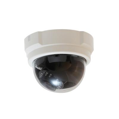 "LevelOne 3 MPix, 1/3.2"" CMOS, f 3.6 mm, F 1.8, 10 IR LED, H.264, RAW, POE, 292 g Beveiligingscamera - Zwart,Wit"