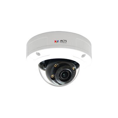 ACTi A92 Beveiligingscamera - Zwart, Wit