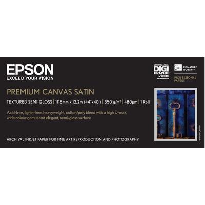 Epson Premium Canvas Satin Fotopapier