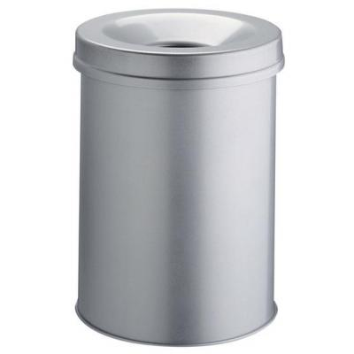 Durable prullenbak: Waste basket Safe round 30 - Grijs
