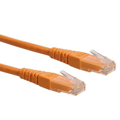 ROLINE UTP patchkabel Cat.6, oranje 7,0m Netwerkkabel