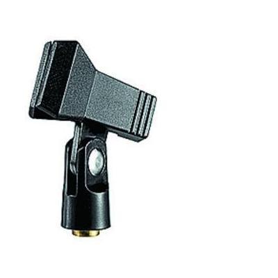Manfrotto MICC2 Spring Clip Microphone Holder Statief accessoire - Zwart