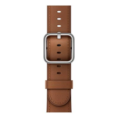 Apple : 42mm Saddle Brown Classic Buckle