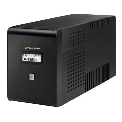 PowerWalker VI 1500 LCD/UK UPS - Zwart