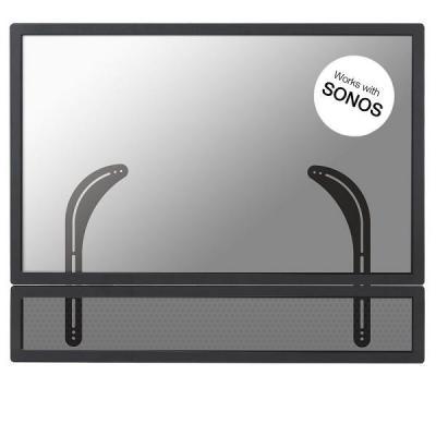 Newstar speakersteun: De soundbarsteun, model NM-USP100BLACK, is ideaal voor het monteren van een soundbar onder flat .....