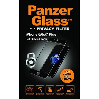 PanzerGlass Apple Phone6/6s/7/8 Plus Edge-to-Edge Privacy Screen protector - Transparant