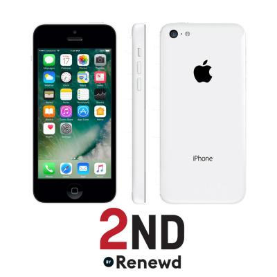 2nd by renewd smartphone: Apple iPhone 5C refurbished door 2ND - 16GB Wit (Refurbished ZG)