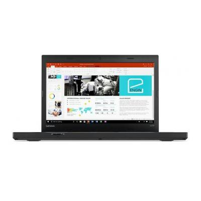Lenovo laptop: ThinkPad L470 - Zwart