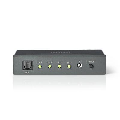 Nedis ASWI2504AT Audio switch  - Grijs