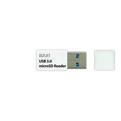 Azuri USB 3.0 Reader Geheugenkaartlezer - Wit