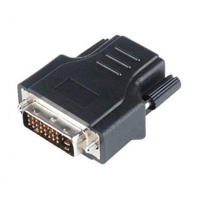 Advanced cable technology AV extender: DVI CAT5 Extender - Zwart