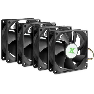 Inter-Tech 88887290 Hardware koeling - Zwart