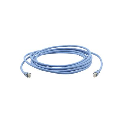 Kramer Electronics 10.7 m, RJ-45, Gold Plated Contacts, Blue Netwerkkabel - Blauw