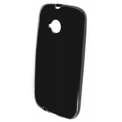 Mobiparts Classic TPU Case Motorola Moto E (2nd gen / 2015) Black Mobile phone case - Zwart